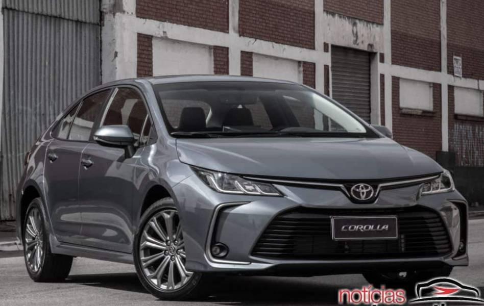 Toyota aumenta preço do Corolla novamente e agora parte de R$ 105.990