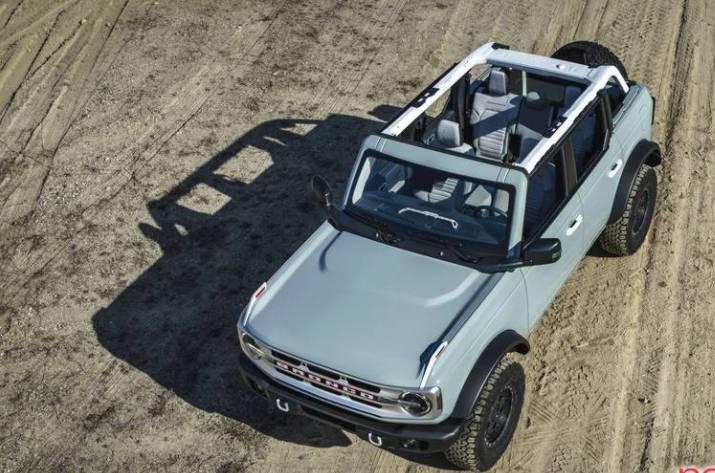 Ford Bronco Hybrid chega em 2022 com 450 cavalos