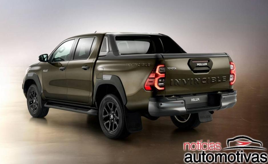 Toyota Hilux Hybrid poderá chegar já em 2021