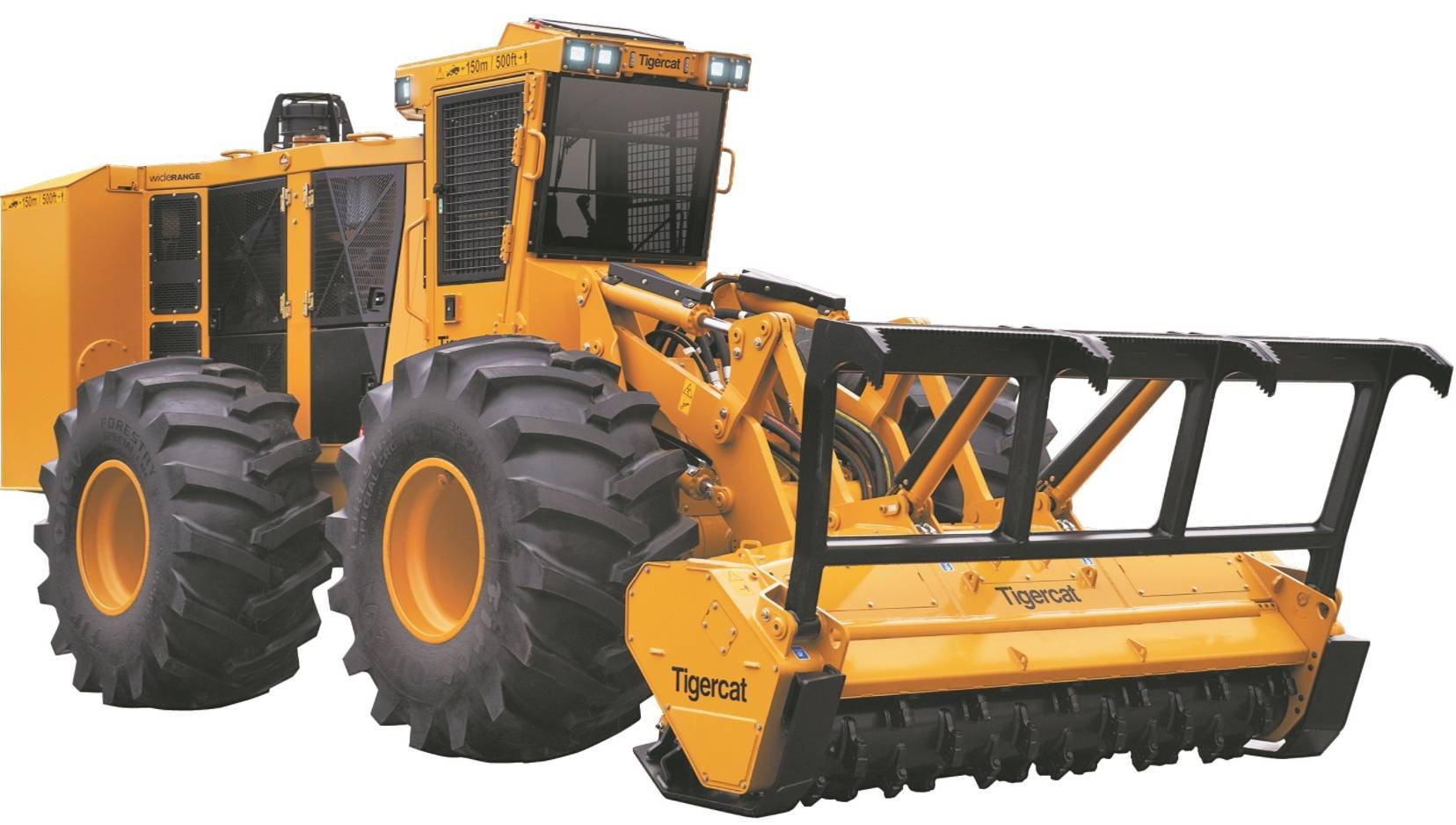 O Tigercat acrescenta um dispositivo de mulching de alta eficiência